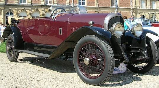 1926 Avion Voisin C3 L torpedo, bodied by Chevalier c