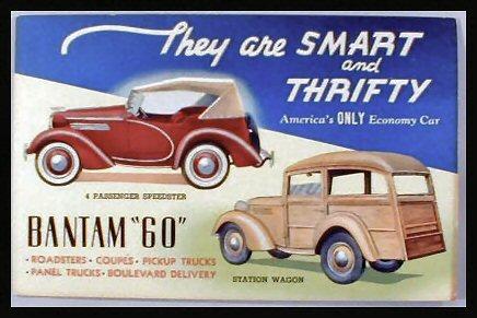 1926 Bantam Cars