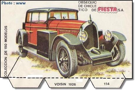 1926 carte espagne