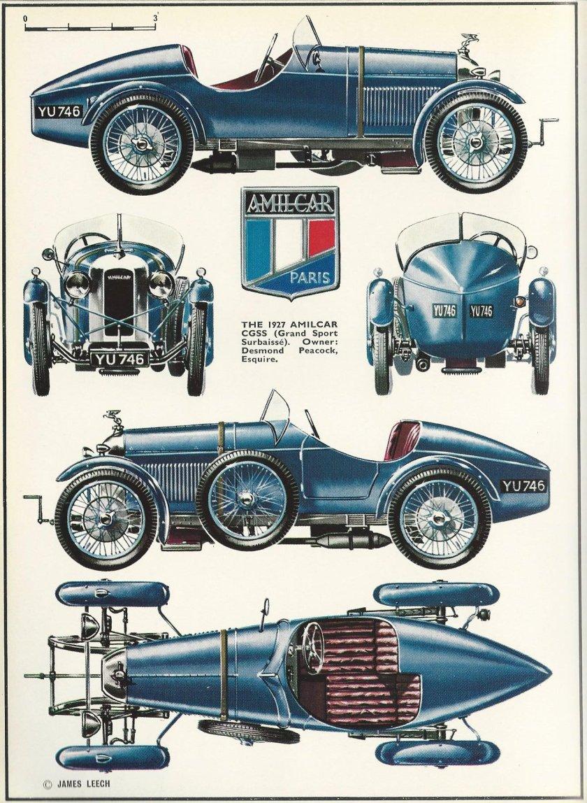 1927 Amilcar CGSS (Grand Sport Surbaisse)