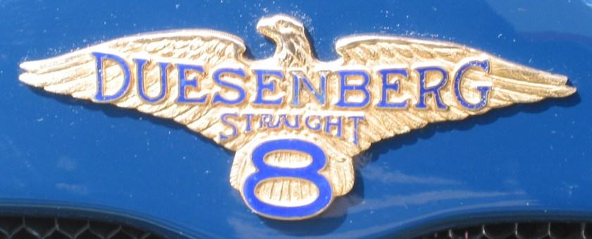 1927 Emblem Duesenberg