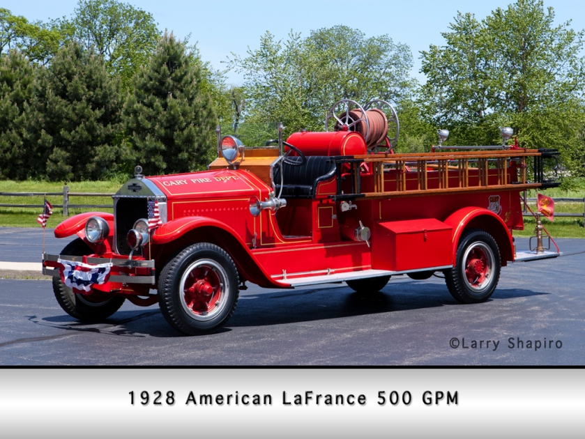 1928 American LaFrance Cary antique LS
