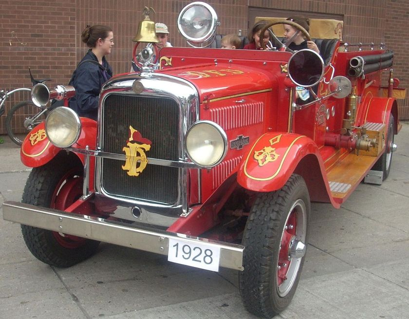1928 American LaFrance fire truck from Ottawa