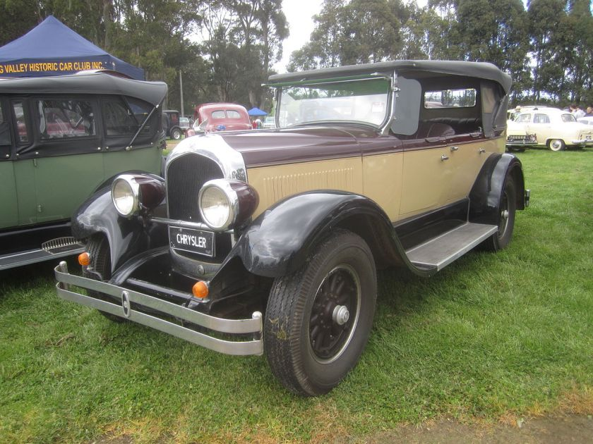 1928 Chrysler Imperial Phaeton