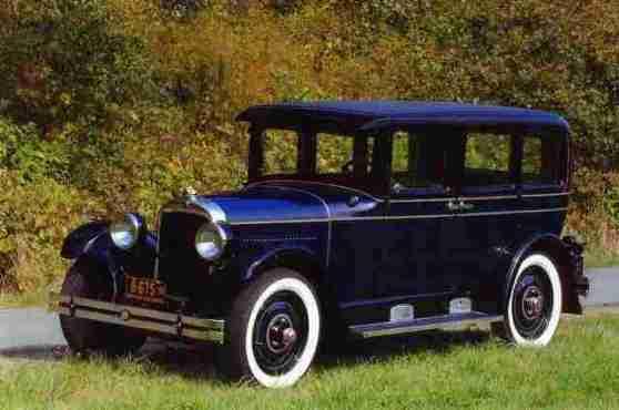 1928 Nash Special Six, Sedan