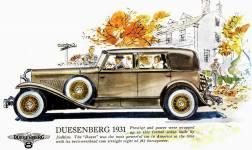 1929-37 Duesenberg ad