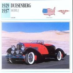 1929-37 Duesenberg f