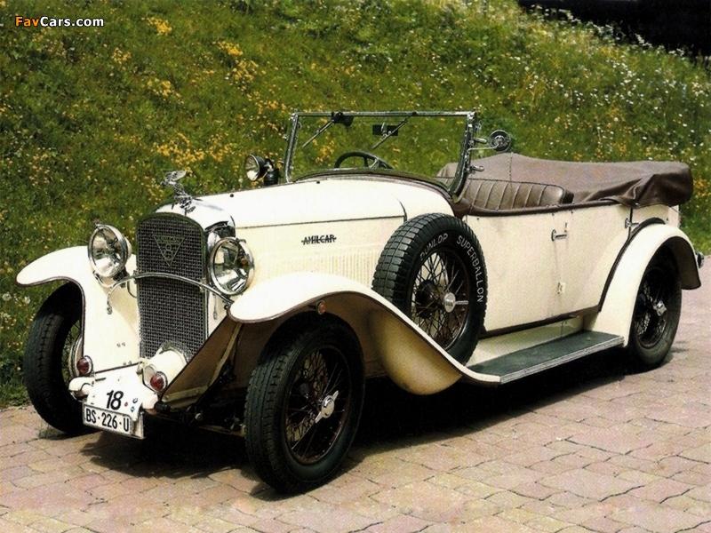1929 amilcar cs8