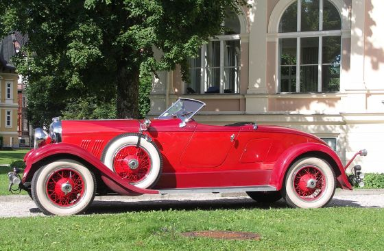 1929 Auburn 8-90 Boattail Speedster U form a