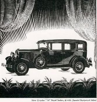 1929 Chrysler 70 royal sedan