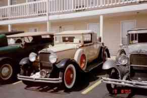 1929 Nash Advanced Six, Rumbleseat Cabriolet