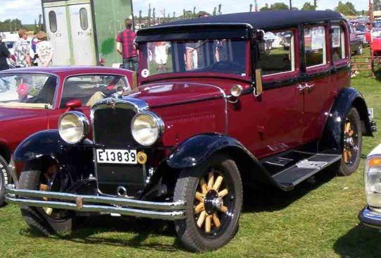 1929 Nash Standard Six Series 420 4-Door Sedan