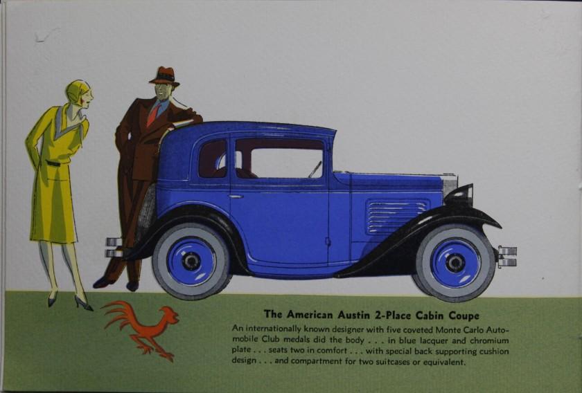 1930-1934 American Austin