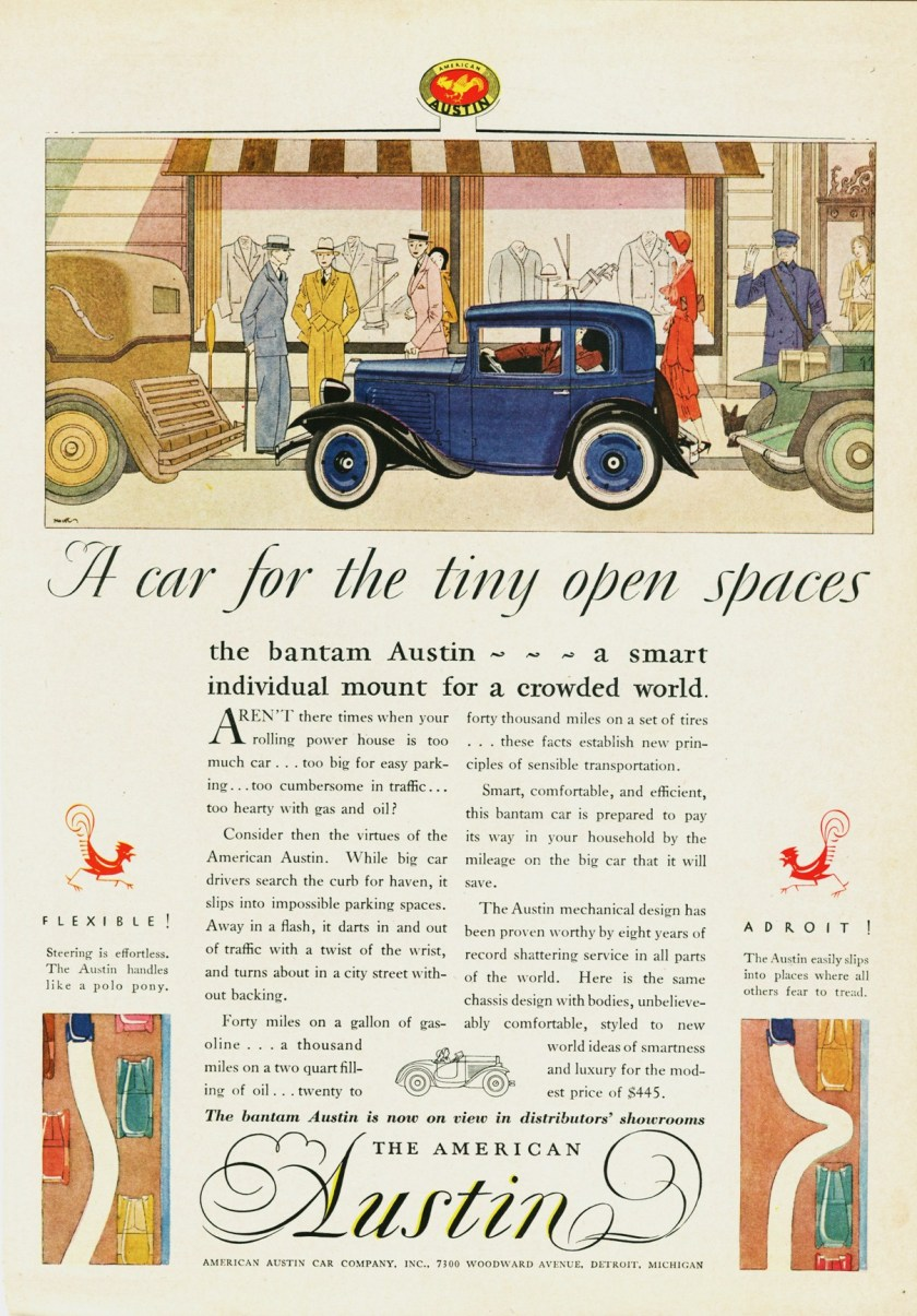 1930 American Austin Ad-0c