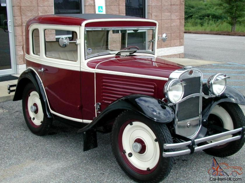 1930 American Austin Coupe f