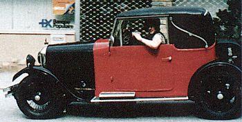 1930 Amilcar g cabrio