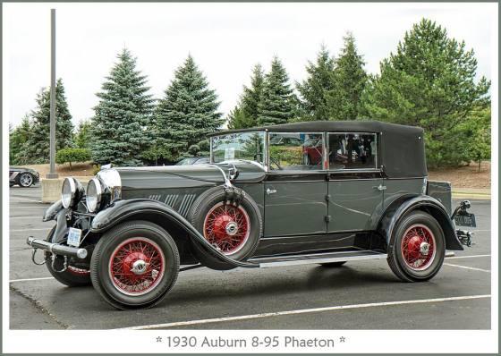 1930 Auburn 8-95 Phaeton