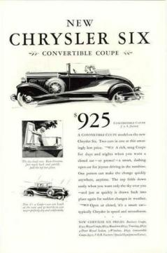 1930 Chrysler Ads