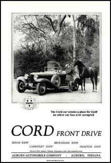 1930 Cord adv. Cord