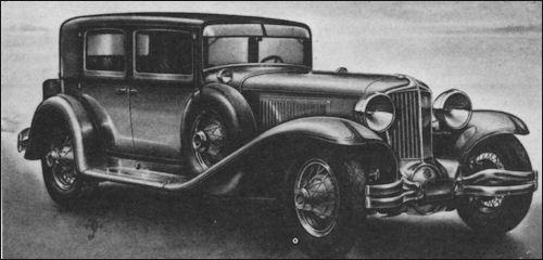 1930 Cord l-29 coupe