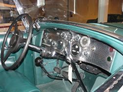 1930 Duesenberg dashboard model J
