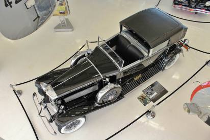 1930 Duesenberg from upstairs