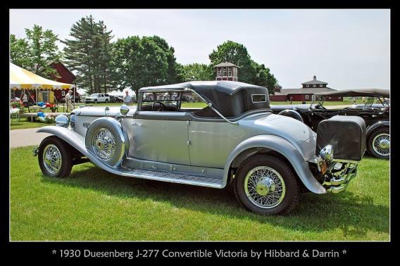 1930 Duesenberg J-277 Convertible Victoria b