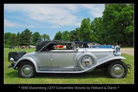 1930 Duesenberg J-277 Convertible Victoria