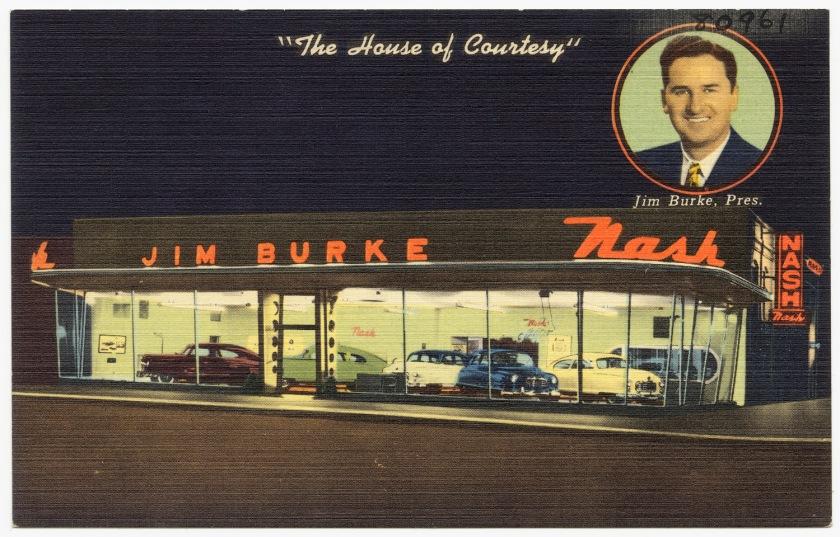 1930 Nash dealership in Alabama, ca. 1930-1945