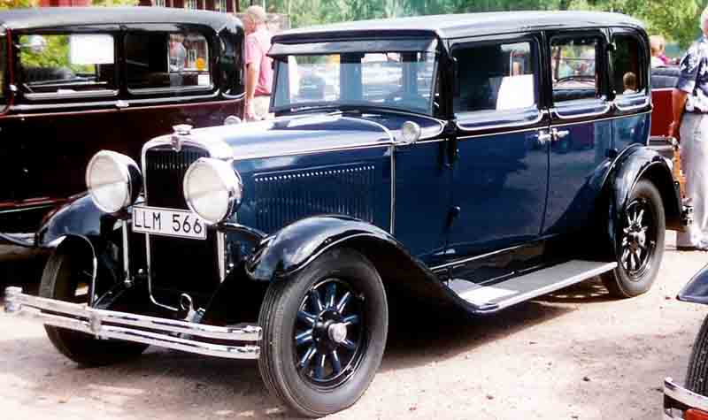 1930 Nash Single Six Series 450 4-Door Sedan