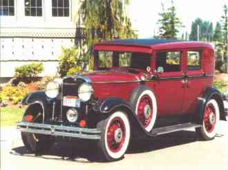 1930 Nash Twin Ignition 8, 5 passenger, 4 Door, Trunk Sedan