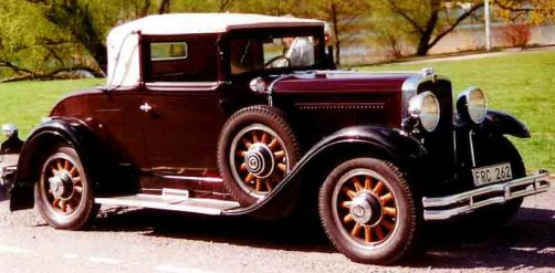 1930 Nash Twin-Ignition Six Series 481 Convertible Coupé