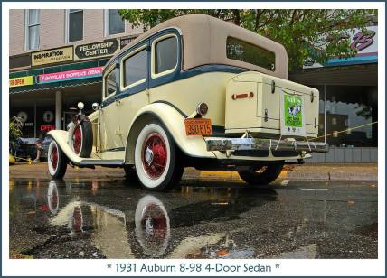 1931 Auburn 8-98 4-Door Sedan