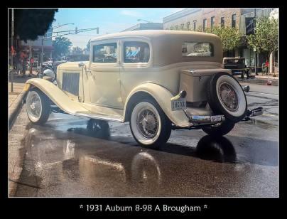1931 Auburn 8-98 A Brougham
