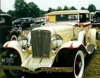 1931 Auburn sedan