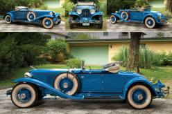 1931 Cord L-29 Cabriolet is driven by a 125 bhp, 298 cu