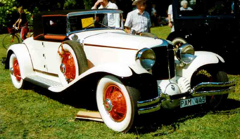 1931 Cord L-29 Convertible Coupe
