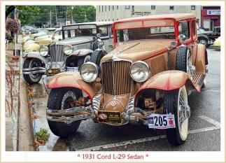 1931 Cord L-29 Sedan a