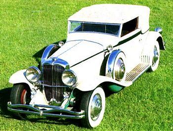 1931 Duesenberg j cabrio