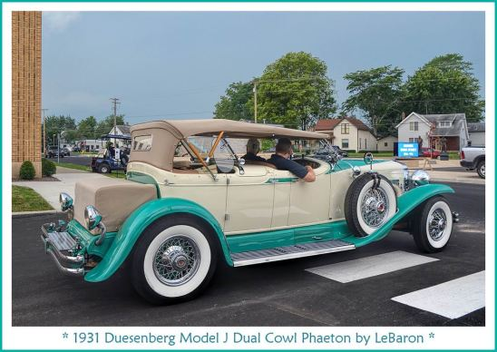 1931 Duesenberg Model J Dual Cowl Phaeton