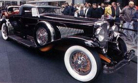 1931 Duesenberg model j fixed head coupe