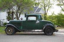 1931 Nash Eight-70, Rumble Seat Coupe