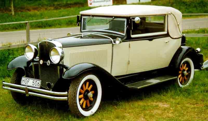 1931 Nash Series 871 Convertible Sedan