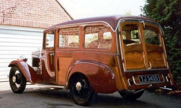 1932 American Austin roadster woody