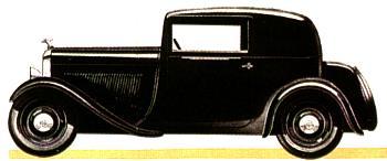 1932 Amilcar c3 coupe