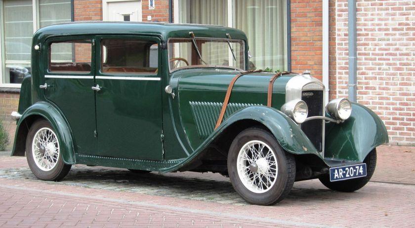 1932 Amilcar M2 Berline Sedan
