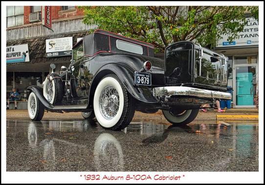 1932 Auburn 8-100A Cabriolet