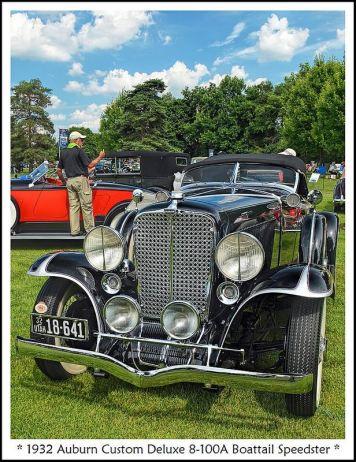 1932 Auburn Custom Deluxe Boattail Speedster