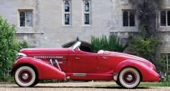 1932 Auburn red
