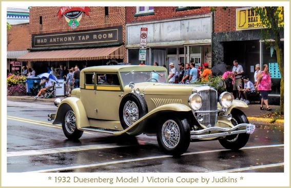 1932 Duesenberg Model J Victoria Coupe by Judkins 32